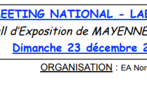 Meeting National  Label FFA Mayenne