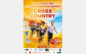 1/2 finale championnat de France de cross.